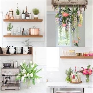 Inspiratie: planten & bloemen in de keuken