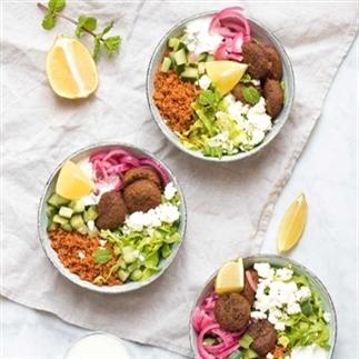 Falafel bowls