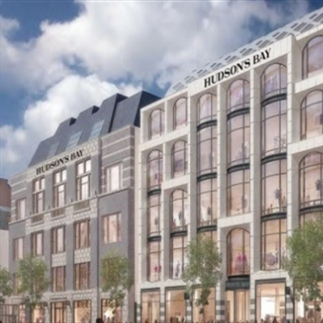 Hudson Bay opent eerste store in Amsterdam...