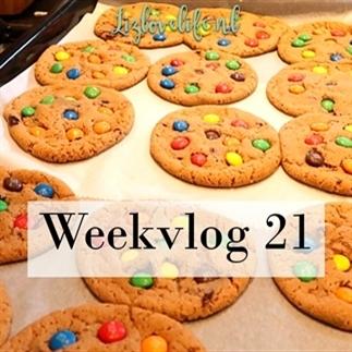 Lizlovelife weekvlog 21 | M&M cookies en ontsnapt