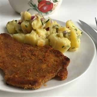 Oostenrijkse aardappelsalade