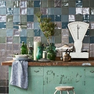 Trend: tegeltjes in de keuken