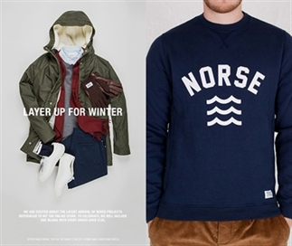 Voor de heren: Norse Projects