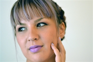 Make up van de dag // Face of the Day: Lila