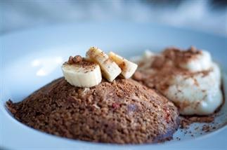 Cacaolicious choco-banaan mug cake
