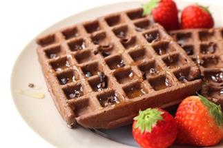 Aanrader: Chocolade wafels met spelt- en havermeel