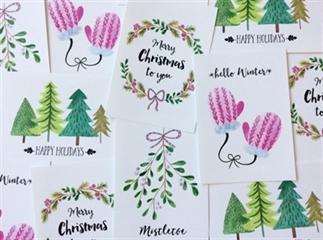 De leukste kerstkaarten voor 2016