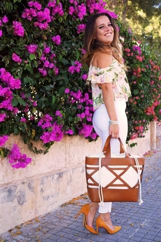 Een zomerse outfit nog even zo voor de herfst!