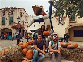 Halloween in pretpark PortAventura in Barcelona!