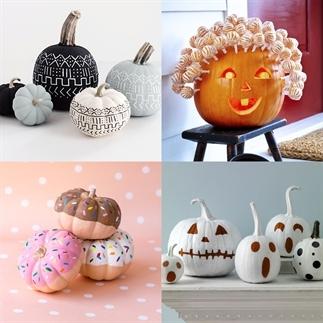 Herfst & halloween: de mooiste pompoen decoraties