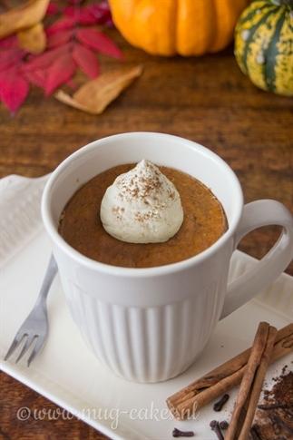 Pumpkin Spice mug-cake