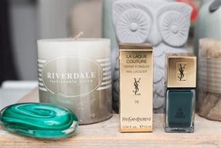 Yves Saint Laurent La Laque Couture 76 Fur Green