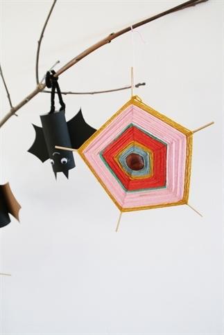 Kastanjespinnenwebben maken