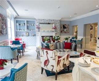 Lunch, lounge en logeerstek in London