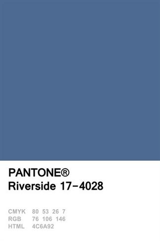 Moodboard: PANTONE 17-4028 TCX Riverside
