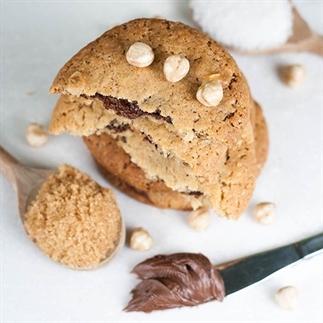 Nutella hazelnoot koekjes