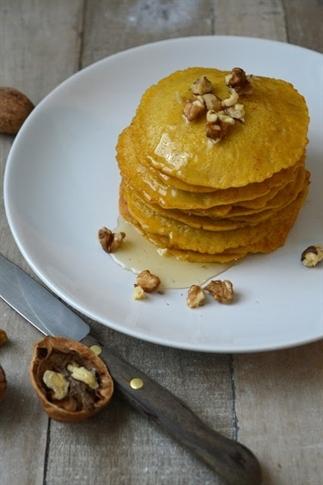 Pompoenpancakes