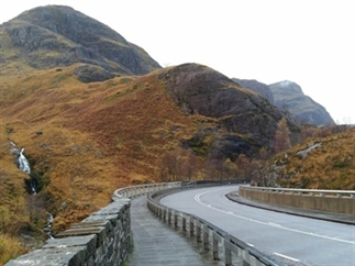 Roadtrip route door de Hooglanden van Schotland