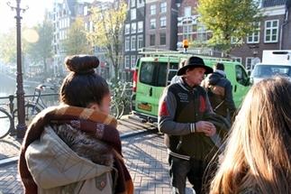Underground in Amsterdam
