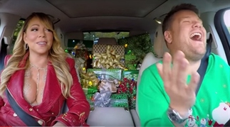 All we want for Christmas is… Carpool Karaoke!