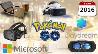 Belangrijkste VR gebeurtenissen in 2016