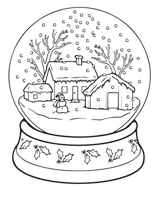 DIY: 9 kleurplaten voor in de kerstvakantie