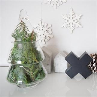 DIY: eenvoudige stijlvolle kerstboom
