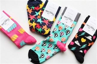 Happy Socks om vrolijk van te worden.