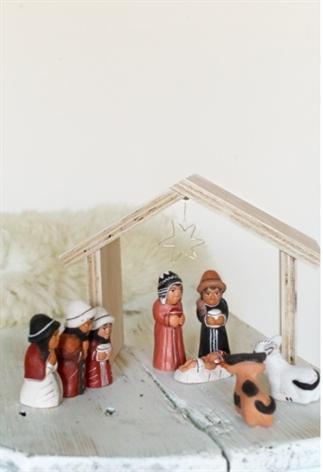 DIY kerst stalletje