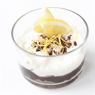 KERST: Frisse mini citroencheesecake met chocolade