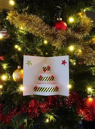 Kerstkaart of kerstdecoratie? Knutselen voor kerst