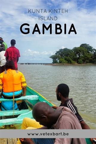 Kunta Kinteh Island in de Gambia Rivier