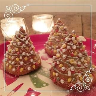 Lizzy bakt: Kerstcakejes