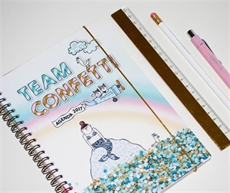Mijn agenda voor 2017: Team Confetti!