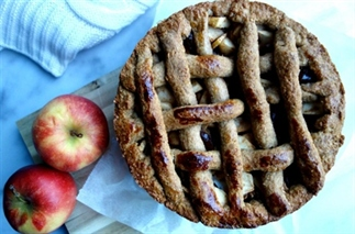 Nieuwe klassieke appeltaart