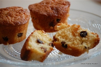 Rum-Rozijnen Cupcakes