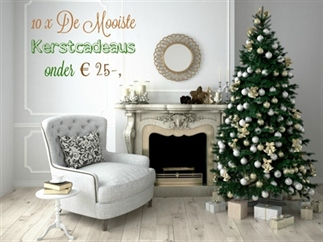 Shopping | 10 x De Mooiste Kerstcadeaus onder € 25