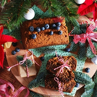 Vegan & suikervrije Kerstcake