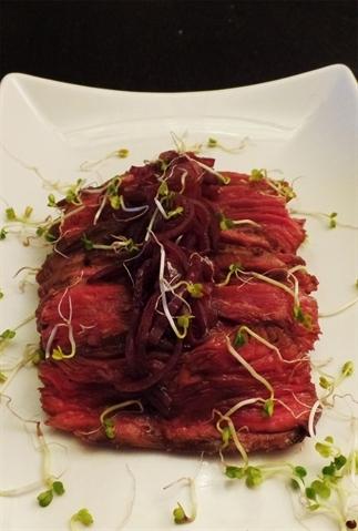 Vergeten vlees: Longhaas met sjalottensaus