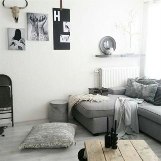 Binnenkijken in Myrthe's appartement