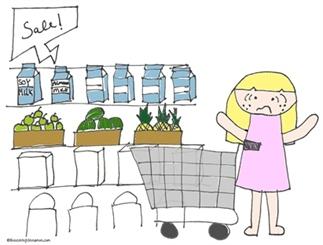 Keuzestress en de supermarkt, fijn!