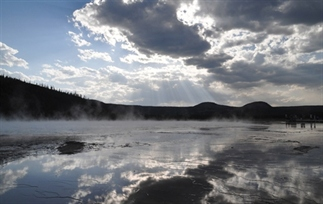 Foto's uit Yellow Stone National park