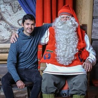 Bezoek aan de kerstman in Finland!