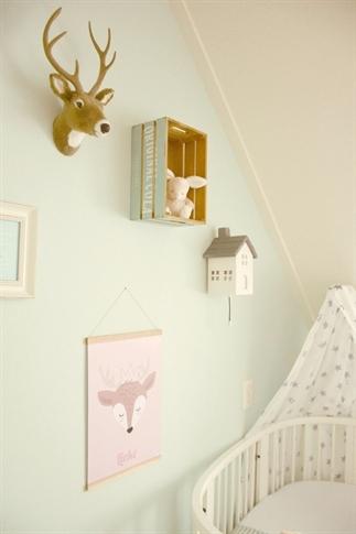Binnenkijker, babykamer Lieke