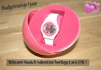 Budgetmeisje 1 jaar!: Win een Swatch horloge