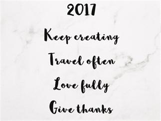 Bye Bye 2016, Hello 2017!