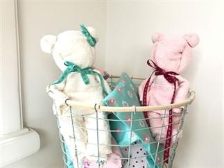DIY kraamcadeau tip: Teddybeer van handdoek