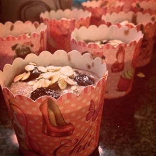 Fruitige detox muffins met havermout