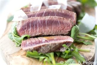 Heerlijke Italiaanse biefstuk tagliata