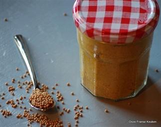 Homemade 'zoete' mosterd zonder suiker